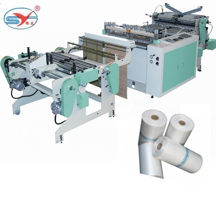 Manufacturer sells high-speed continuous roll bag machine