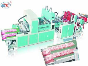 T- shirt Bag Making Machine With Auto Packing