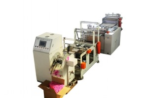 Fully automatic 20% continuous rolling bag machine