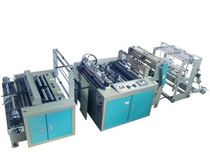 High Speed Linkage Bag On Roll Machine